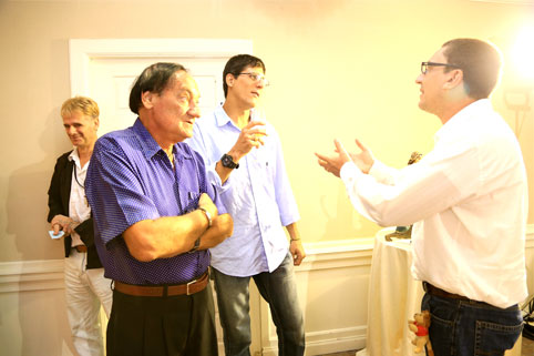 Father Giovanni Contarin attending the Bridge of hope charity dinner 13-12-12 In support of Children living with Disabilities at The Camillian Home LatKrabang.