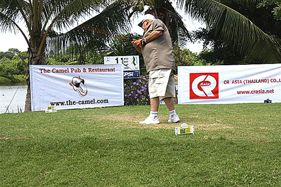 Camel Pub BanChang holds their Camel Summer Classic Golf match for HIV?AIDS kids from The Camillian Social Center Rayong.