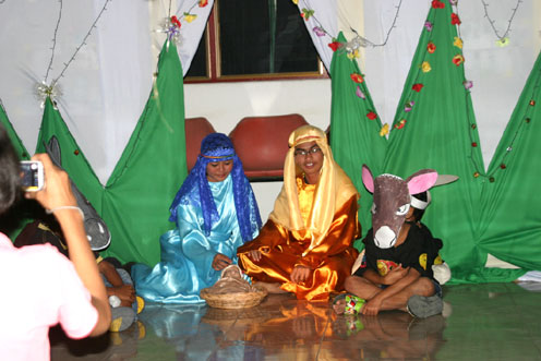 the Camillian Social Center Children living with HIV/AIDS christmas party