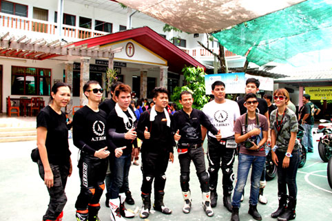 DDR Biker Group Rayong visit the Camillian Social Center on the Sunday 20th of September 2014.