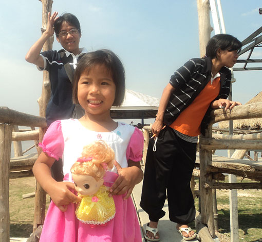 "One of the children of the Camillian social center rayong ""NEW2"" is going into hospital in Bangkok soon."