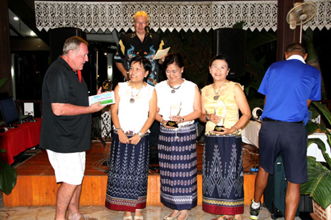 The 7th annual Divetide round of Golf was held on Saturday the 4th of October 2014 with the proceeds going to the Camillian Social Center Rayong to help the children living with HIV/AIDS.