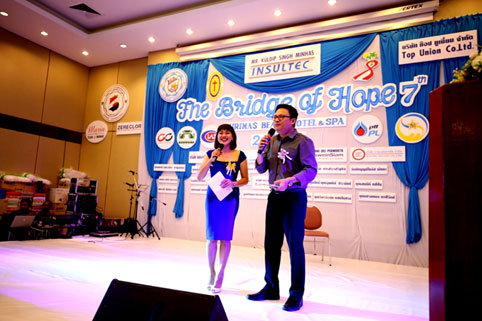 The Bridge of hope charity dinner 24-02-18 In support of Children living with HIV/AIDS at The Camillian Social Center Rayong