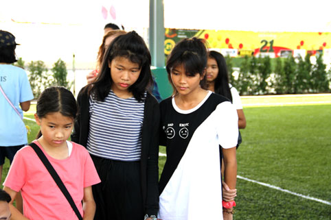 children living with HIV/AIDs were invited to a day out at The Garden International School Ban Chang.