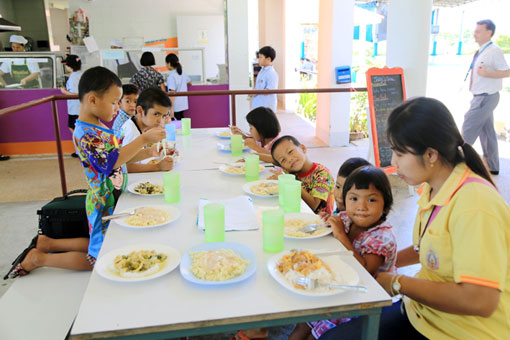 In April 2013 the children of The Camillian Social Center Rayong where invited to The Garden International School BanChang for a day of activities.