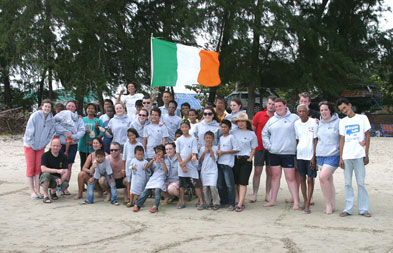 On the 11th of June 2011 we welcomed a group of Irish Volunteers from the LYIT Gaisce Society headed by Florence Blake.