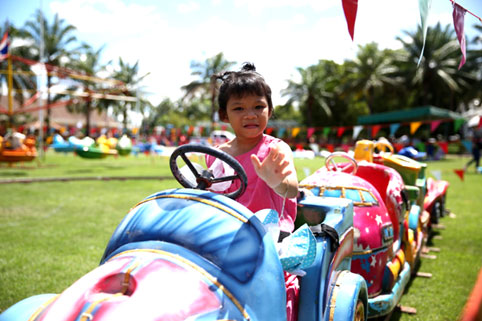 The Jesters Fair September the 6th 2015 a little sunshine the Camillian Social Center Rayong to help the children living with HIV/AIDS.
