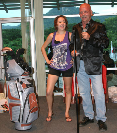 The Canadian Jackalope Group play golf again for the children of the Camillian social center Rayong who are living with HIV/AIDS.