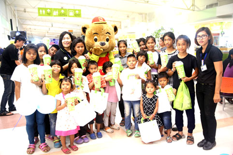 Proceeds from the Charity Golf event & JESSTERS FAIR in suport of the kids from the Camillian Social Center Rayong living with HIV/AIDS