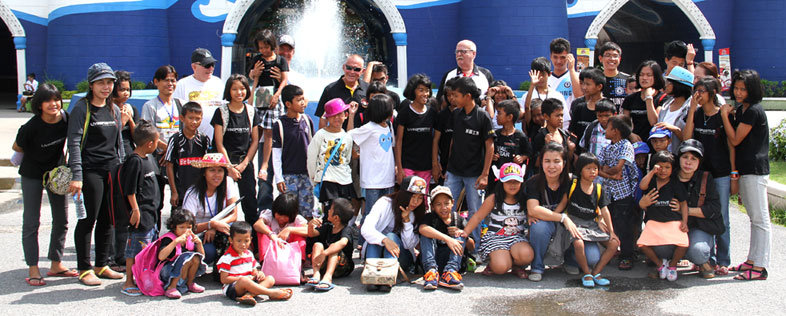 Park City Bangkok for the Kids at the Camillian Social Center Rayong sponsored by the Jesters and Jackalope