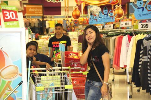 Proceeds from the Charity Golf event in suport of the kids from the Camillian Social Center Rayong living with HIV/AIDS