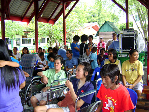 Mother day at the Camillian Social center Rayong a center for children living with hiv/aids