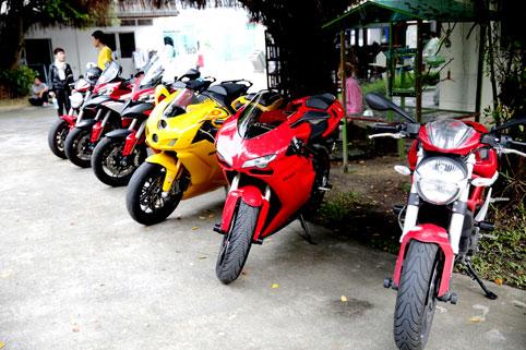 Pattaya Ducati visit the Camillian Social Center on the Sunday 29th of September 2013.