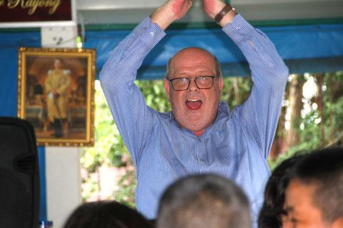Pottseys Party for the Camillian Kids.