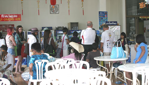 CChildren from the Camillian Social Center Rayong living with HIV/AIDS are treated to a day out by the Jesters and the Jacalope.