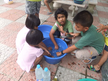 Powerwave make the day for the children of the Camillian Social center Rayong who are living with HIV/AIDS