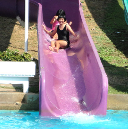 Fun in the sun with the children living with HIV/AIDS of the Camillian Social center Rayon at Pattaya Water Park Thailand.