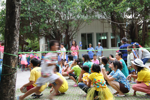 Songkran on Friday the 13th of April 2012 for the children of The Camillian Social Center Rayong who are successfully living with HIV/AIDS.