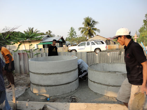 """Our Teenagers living with HIV/AIDS """"Pay It Forward"""" by constructing a fish farm for the local community that will benefit very poor families in the area."""