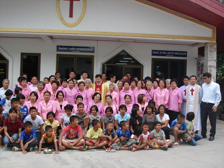 news letter for the Camillian Social Center Rayong Thailand children living with HIV/AIDS