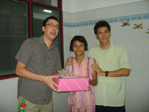 New letter for august 2010 from the Camillian Social Center Rayong for children living with HIV/AIDS.