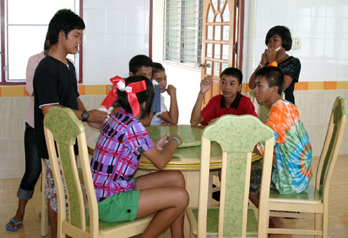 HIV/AIDS Independant Living for Teenagers  living with HIV and children that have been orphaned by the HIV/AIDS Virus